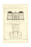 Egyptian Interior Plan Prints by Richard Brown