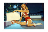 Christmas Poster by William Medcalf