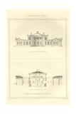 Greek Villa Prints by Richard Brown