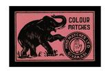 Elephant Colour Matches Art