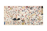 53 Stations of the Tokaido Prints by Kuniyoshi Utagawa