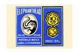 Elephant Head Prints