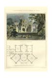 Edwardian Style Plantagenet Castle Art by Richard Brown