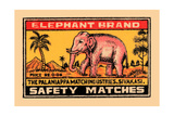 Elephant Brand Posters