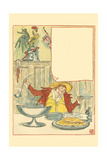 Mardi Gras Ladled Steaming Chicken Soup into the Bowl for September 2nd Art by Walter Crane