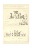 Norman Castle and Lancastrian Mansion Posters by Richard Brown