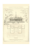 Burmese Palatial Hall of Assembly Prints by Richard Brown