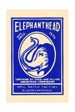 Elephant Head Posters