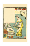 365 Days and Leap Year Were Invited Posters by Walter Crane