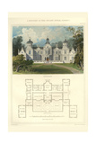 A Mansion in the Stuart Style, James I Posters by Richard Brown