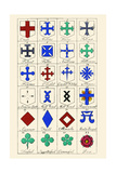 Heraldic Crosses Prints by Hugh Clark