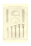 Roman Columns and Dome Ceiling Prints by Richard Brown