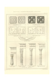 Egyptian Columns, Walls and Ceilings Prints by Richard Brown