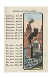 Rooftops of Pigeons Posters by Charles Butler