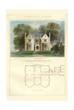 Tudor Suburban Residence Posters by Richard Brown