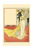 The Twelfth Day Was Richly Adorned in a Tiffany Gown Prints by Walter Crane