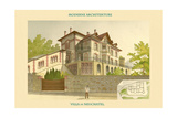 Villa - Neuchatel Art by  Chatelain