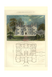Tudor Manor House, Henry Viii Style Print by Richard Brown