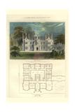 Tudor Manor House, Henry Viii Style Print by Richard Brown