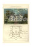 Tudor Manor House, Henry VIII Prints by Richard Brown