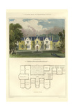 Tudor Hall, Elizabethan Style Poster by Richard Brown