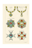 Order of the Geulfs, St. Michael and St. George Prints by Hugh Clark