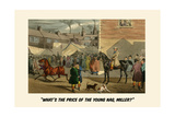 What's the Price of the Young Nag, Miller Poster by Henry Thomas Alken
