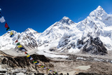 Mount Everest Mountains Landscape Photographic Print by  blas