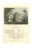 Villa in the Roman Style Posters by Richard Brown