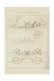 Tudor Gate House and Stuart Lodges Prints by Richard Brown