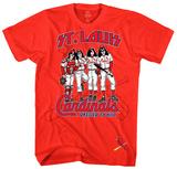 KISS - St. Louis Cardinals Dressed to Kill T-Shirts