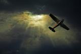 Cessna 172 Airplane Photographic Print by photograph by Anastasiya Fursova