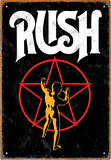 Rush Starman Tin Sign Tin Sign