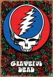 Grateful Dead Roses Tin Sign Tin Sign