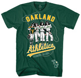 KISS - Oakland Athletics Dressed to Kill T-Shirt