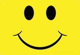 Happy Face Tin Sign Tin Sign