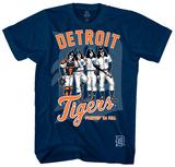 KISS - Detroit Tigers Dressed to Kill Skjorter