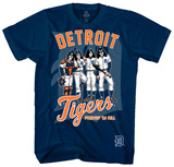KISS - Detroit Tigers Dressed to Kill Shirts