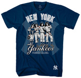 KISS - New York Yankees Dressed to Kill Tshirt