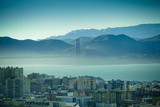 North Beach and Golden Gate Photographic Print by Hal Bergman Photography