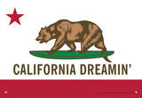 California Dreamin Tin Sign Tin Sign
