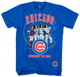 KISS - Chicago Cubs Dressed to Kill Tshirts