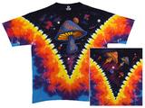 Space Shrooms - Light Fantasy T-skjorter