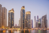 Futuristic Skyscrapers in Dubai Marina. Photographic Print by Buena Vista Images