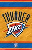 Oklahoma City Thunder - Logo 14 Poster