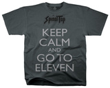 Spinal Tap - Keep Calm Go To The Eleven Tshirts