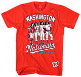 KISS - Washington Nationals Dressed to Kill T-shirts
