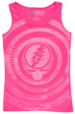 Juniors Tank Top: Grateful Dead - Ripple Bluser