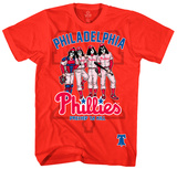 KISS - Philadelphia Phillies Dressed to Kill Shirt