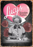 I Love Lucy - Chocolate Tin Sign Tin Sign